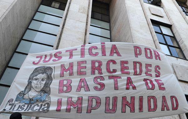 Reclamo. La muerte de Mercedes Delgado generó varias marchas a Tribunales.
