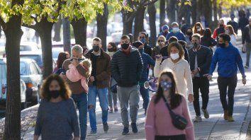 El coronavirus hace estragos en Rosario. La gente está al borde del colapso emocional.