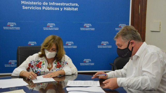 Provincia y Nación acordaron desarrollar el Plan Circunvalar Ferroviario en Santa Fe y Rosario