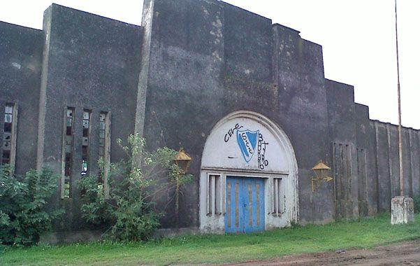 abandonado. El viejo edificio no tiene aún un destino concreto.