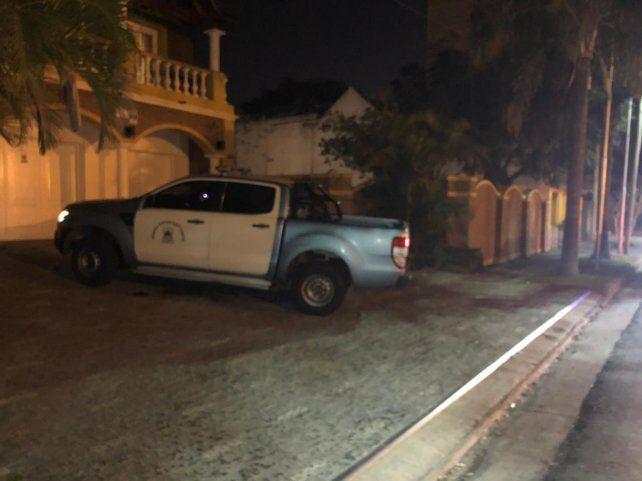 El líder portuario de San Lorenzo llegó a su casa para cumplir prisión domiciliaria.