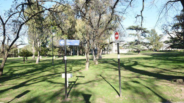 El lugar donde mataron al policía Galeano.