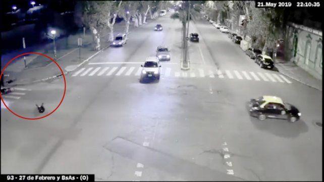 Un video registra el enfrentamiento que terminó con una pareja muerta por balas policiales