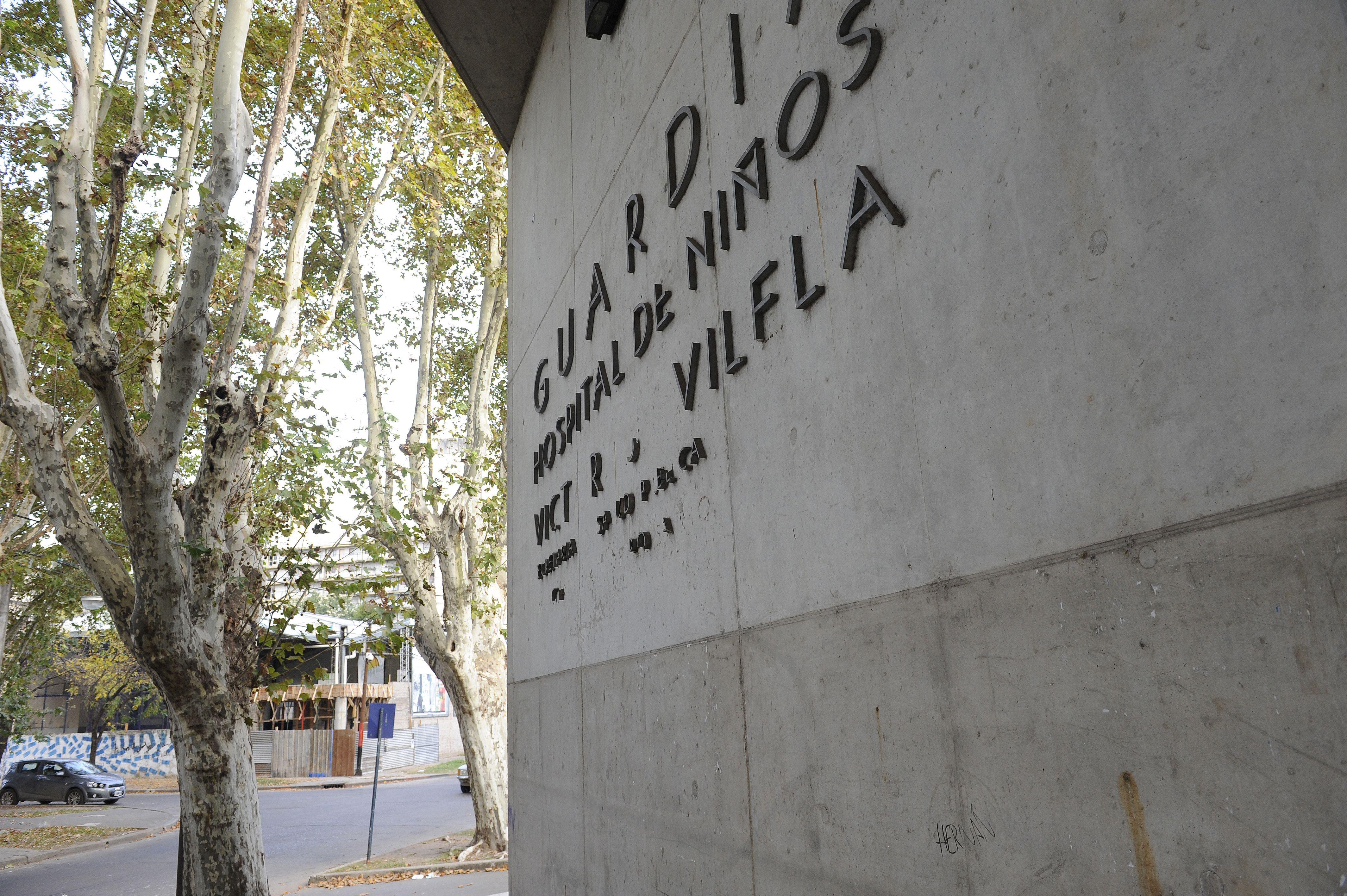 El Hospital de Niños Víctor J. Vilela. La niña fue llevada hasta ese hospital