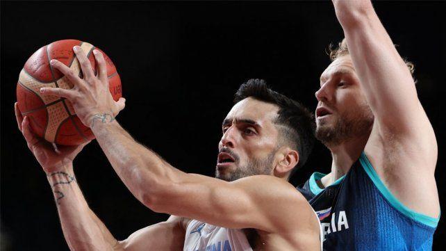 Duro de superar. La albiceleste no logró imponer su garra y juego ante Eslovenia.