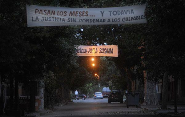 Reclamo. Pasacalles en Riobamba y Riccheri