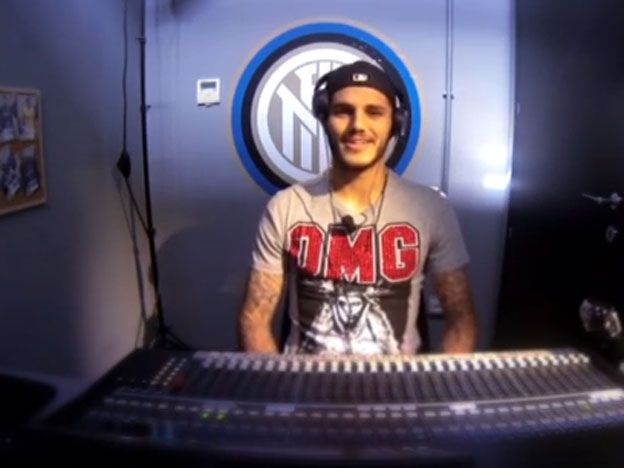 Icardi ahora es DJ