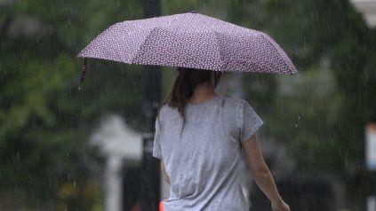 El tiempo en Rosario: rige alerta amarilla por fuertes tormentas que llegarían al caer la tarde