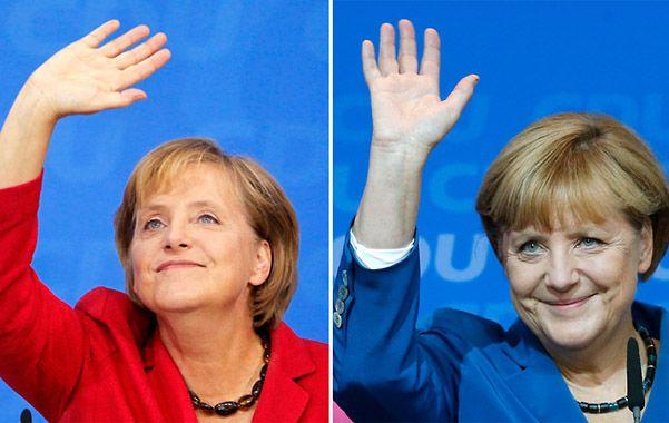 La tercera vez. Angela Merkel celebra sus triunfos del 27 de septiembre de 2009