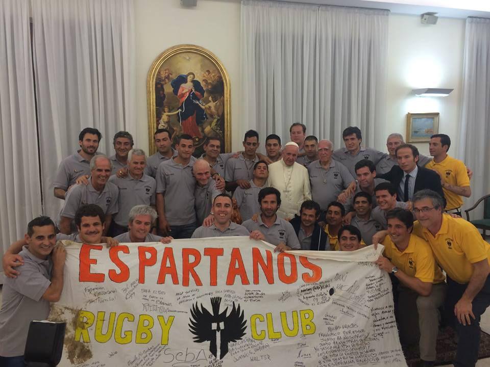 Testimonios de fe de Los Espartanos. (Foto: Celina Mutti Lovera / La Capital)