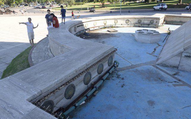 La Asociación Amigos del Parque Independencia hizo una propuesta a la Municipalidad para ocuparse de la reparación