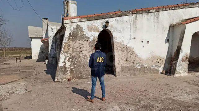 El lugar donde ocurrió el lamentable episodio y que está en investigación.