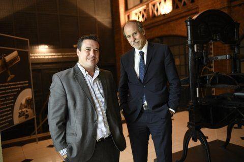 candidatOs. Galdeano y Racciatti se preparan para la elección de hoy.