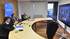 Encuentro. El Consejo del Salario Mínimo sesionó ayer en forma virtual. Hubo consenso.