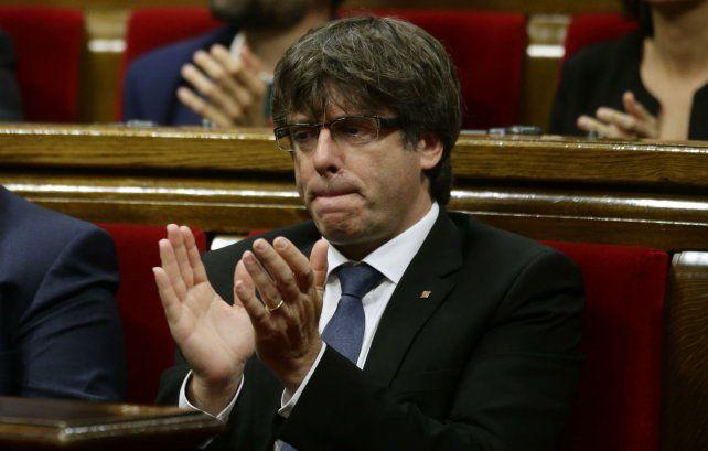 El jefe de la Generalitat