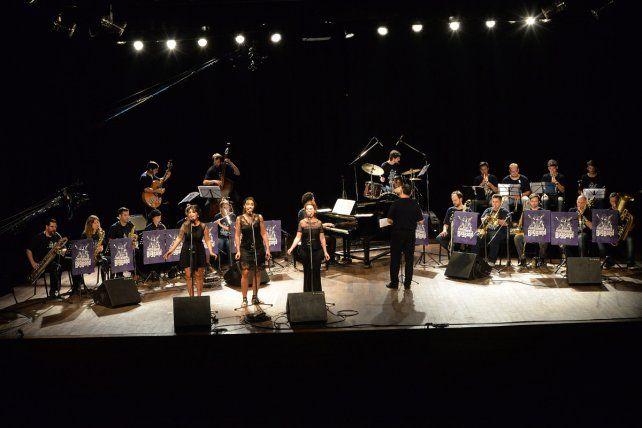 A toda orquesta. La MusiMedios Big Band versionará temas como Summertime y Un americano en París.