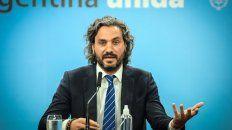 El jefe de Gabinete, Santiago Cafiero, dijo que todavía hay que esperar para que el público vuelva al fútbol.