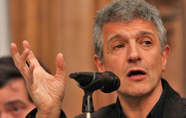 Un radical en la Rosada. López adelantó que se presentará como candidato a jefe de Gobierno porteño en 2015.