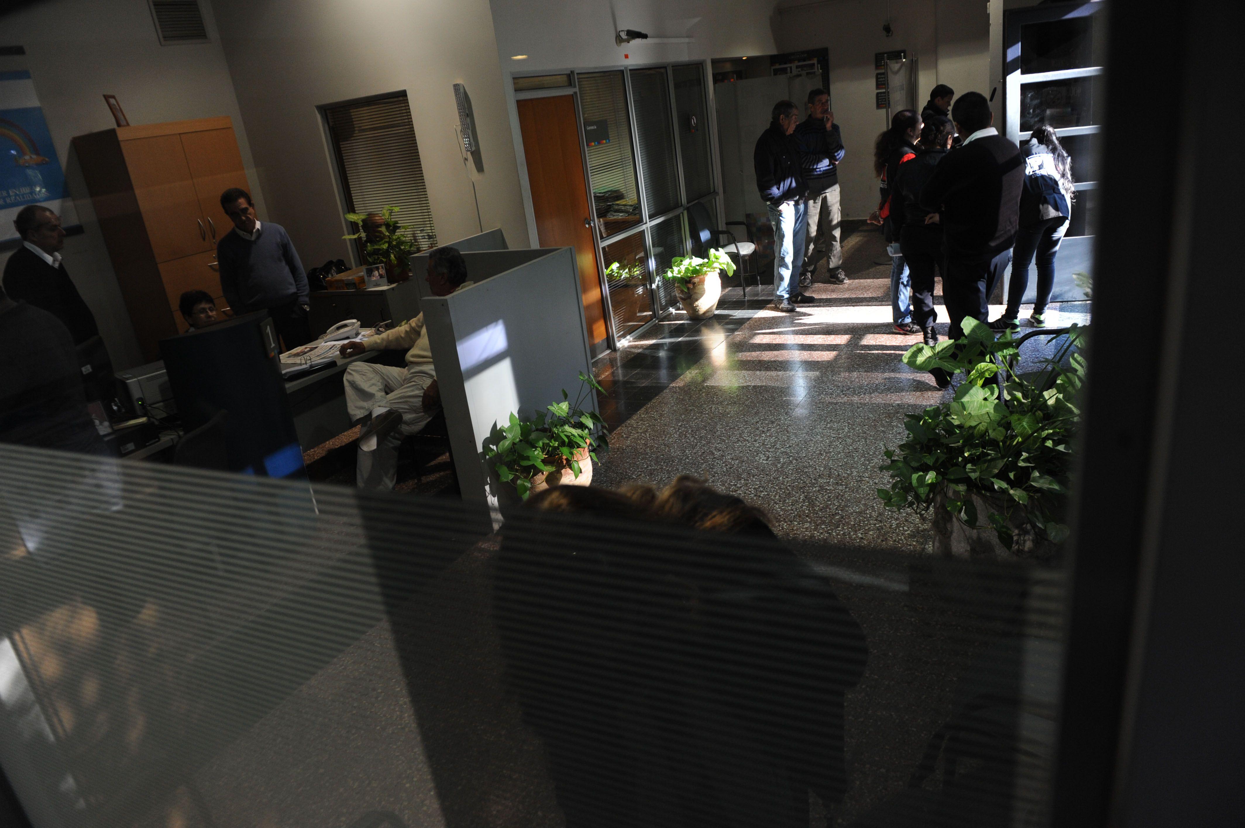 El banco. Al grupo se le adjuidca el atraco al Credicoop de General Lagos. (Sebastián Suárez Meccia / La Capital)