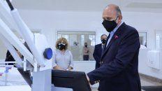 Perotti inauguró el reacondicionamiento del Viejo Hospital iturraspe