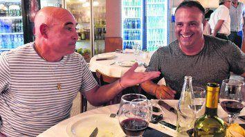Hay que disfrutar de esta fiesta, coinciden Leo Fernández y Llop