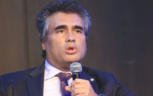 Voz oficial. Vanoli fue el encargado de la respuesta oficial del gobierno a los dichos de Mauricio Macri.