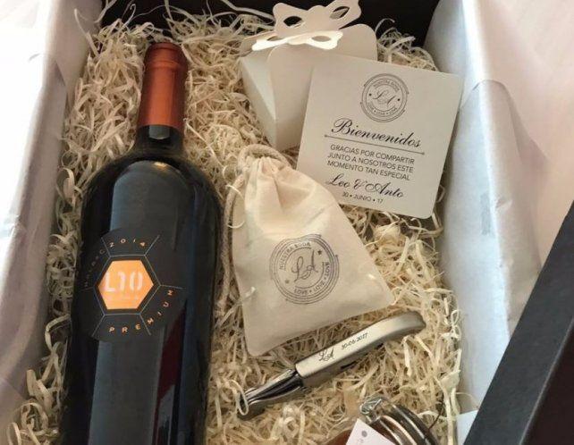 Qué se llevarán como souvenir los invitados VIP a la boda de Lionel y Antonela