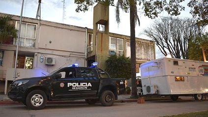 La sede policial ubicada en avenida Belgrano al 300 de Sunchales.