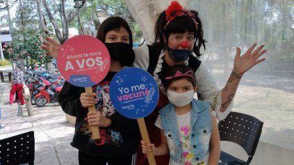 Vacunación de menores en la provincia de Santa Fe