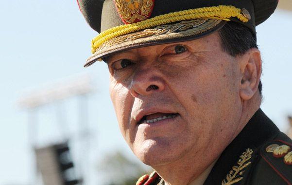 """Milani dijo que las Fuerzas Armadas están """"mucho mejor que antes""""."""