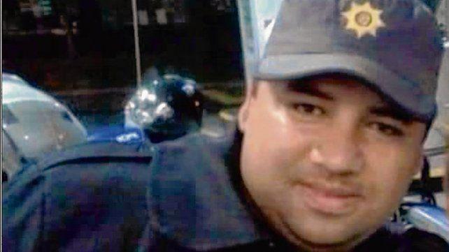 Víctima. Marcos Di Fazio revistaba en el Comando Radioeléctrico.