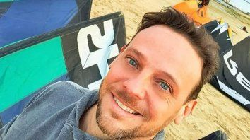 Santiago practicaba el kitesurf desde hacía una década y desapareció el domingo.