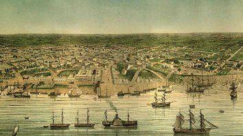 ventaja. El puerto de Rosario, un lugar clave para contrarrestar el poder de terratenientes y de Buenos Aires.