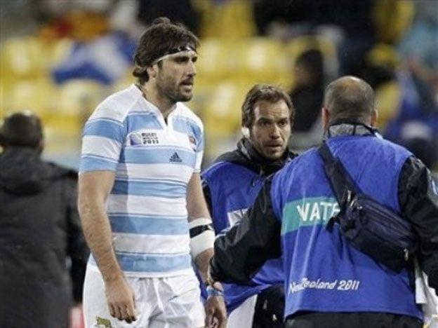 Fernández Lobbe está descartado para lo que resta del Mundial. Foto: AP