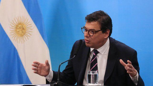 El ministro de Trabajo de la Nación