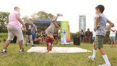 El concurso #RapSinMachismo, realizado en el parque Scalabrini Ortiz, fue todo un éxito.