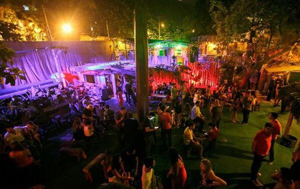 La discoteca. La pelea sucedió en un boliche del barrio de Gávea