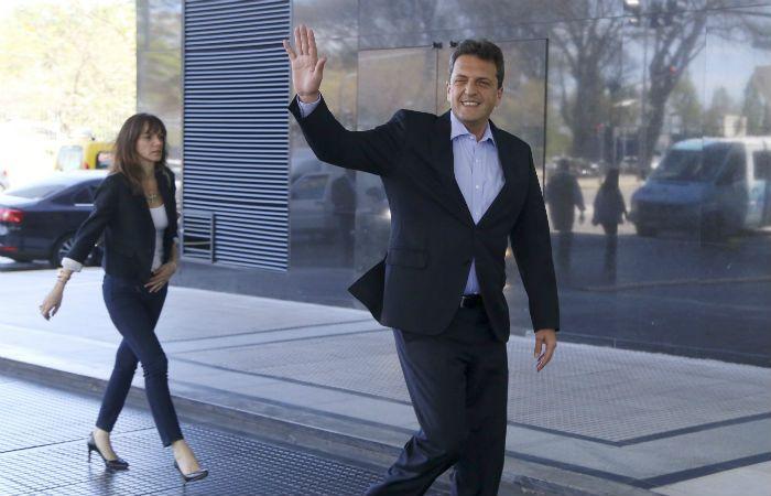 Massa anticipó que no quieren que haya ajuste contra los trabajadores ni jubilados. (Foto NA)