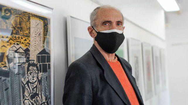 El secretario de Cultura de Rosario, Dante Taparelli.