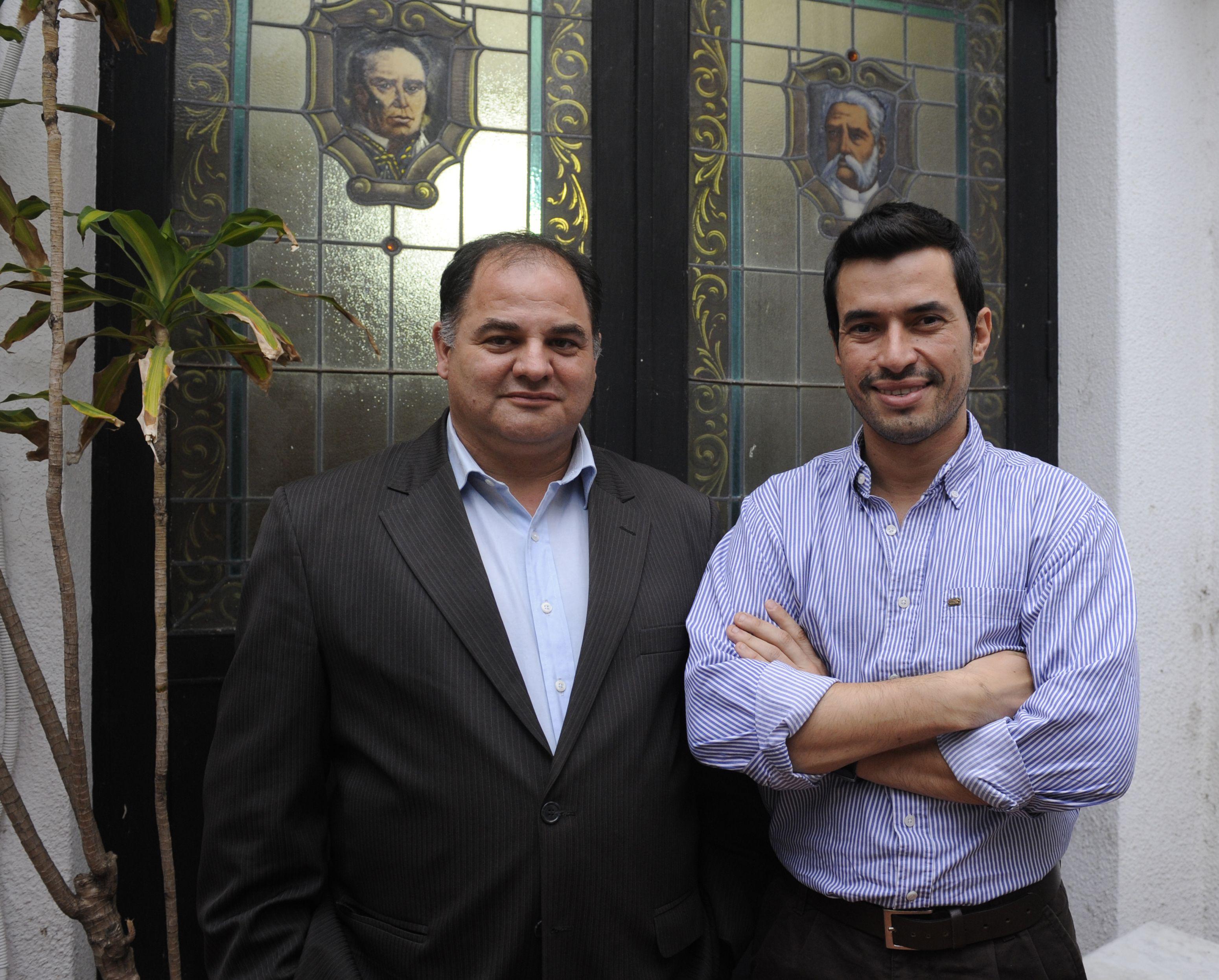 Frente Renovador: Andrés Chiarrello y Francisco Rui Fernádez.