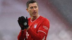 Bayern Múnich , campeón de invierno y récord de Lewandowski