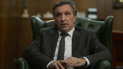 El titular leproso, Ignacio Astore.