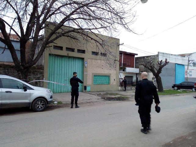 El lugar donde se produjo el ataque a balazos.