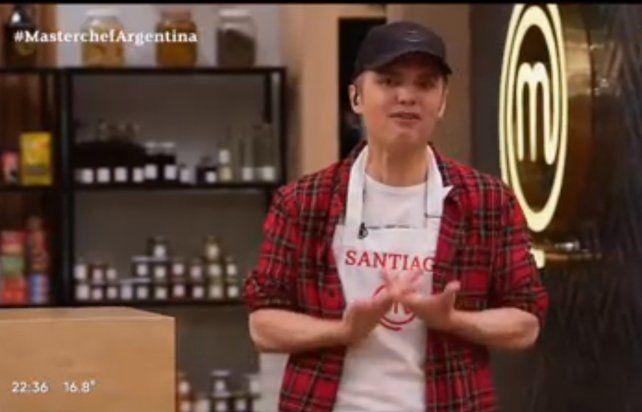 Santiago del Moro se animó a cocinar en MasterChef Celebrity 2.