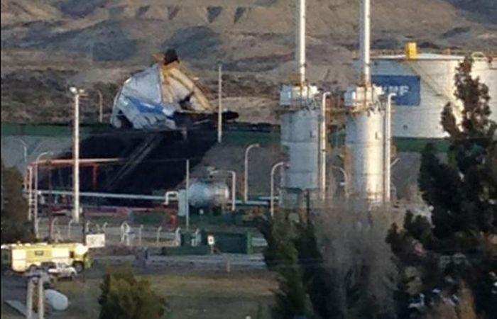 El incidente ocurrió en una planta deshidratadora que la petrolera posee en suelo chubutense.