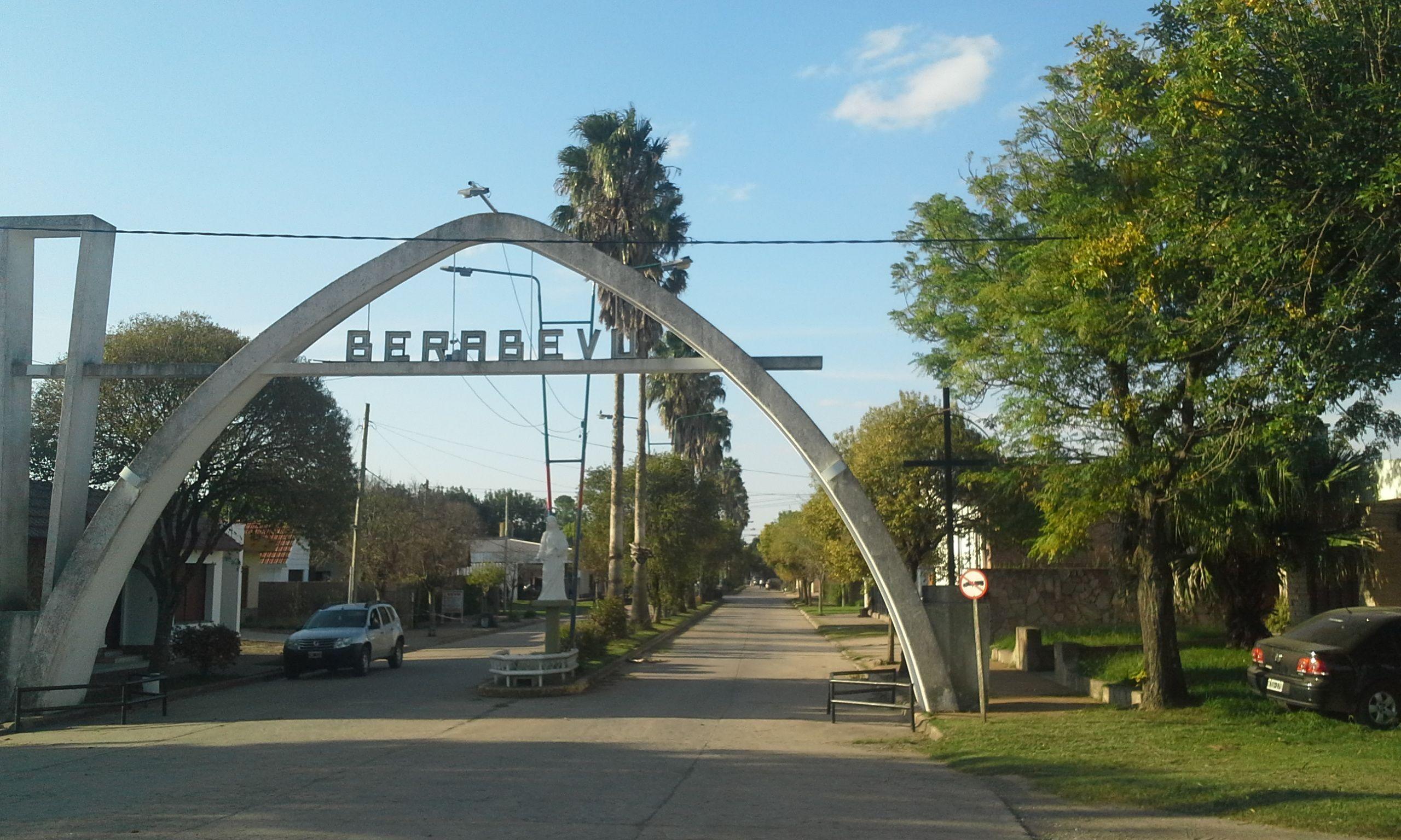 en jaque. Berabevú tiene unos 2.300 habitantes. En la comuna aseguran que hacen frente a una pesada herencia.