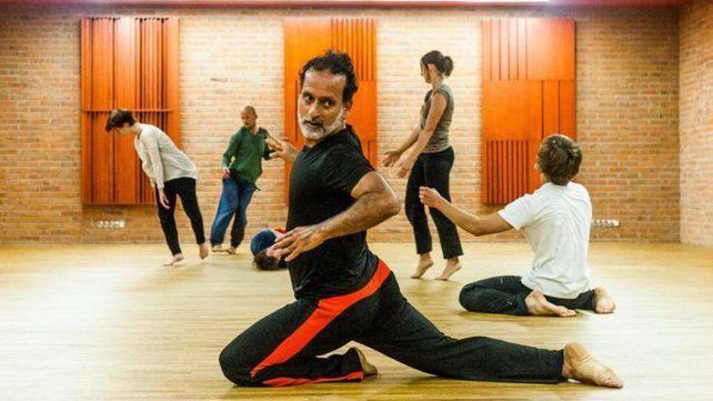 La figura. El coreógrafo venezolano David Zambrano dicta un seminario desde hoy al viernes en Club El Tala.
