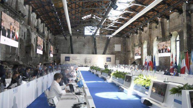 Histórico. La cumbre de ministros de Finanzas del G-20 en Venecia acordó el impuesto global