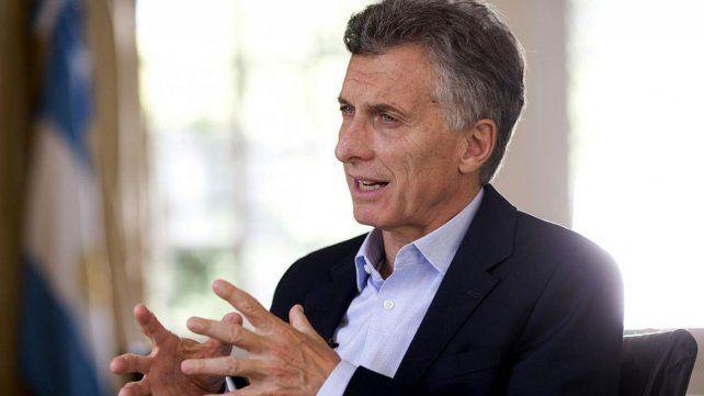 Mauricio Macri les habló a los manifestantes: Tenemos que ser muy optimistas