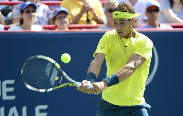 Nadal no tuvo mayores inconvenientes para vencer a Raonic en la final. Foto: AP.